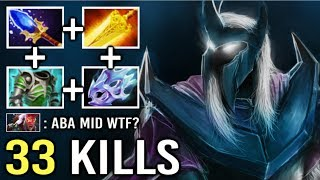 NEW CANCER MID Abaddon Imba Curse Silence Non-Stop Max Attack Speed Can't Stop This Hero 7.22 Dota 2