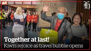 'Like a scene from Love Actually': Transtasman bubble open! | nzherald.co.nz