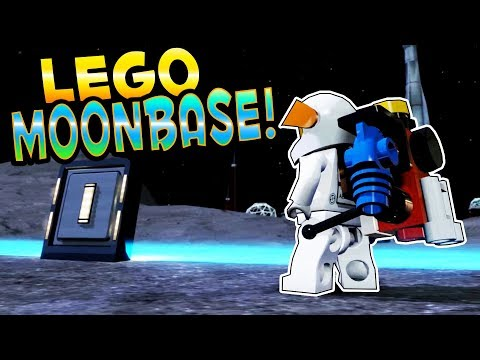 LEGO MOON BASE! GOING TO SPACE! - Lego City Undercover HD Gameplay 100% Completion Part 26