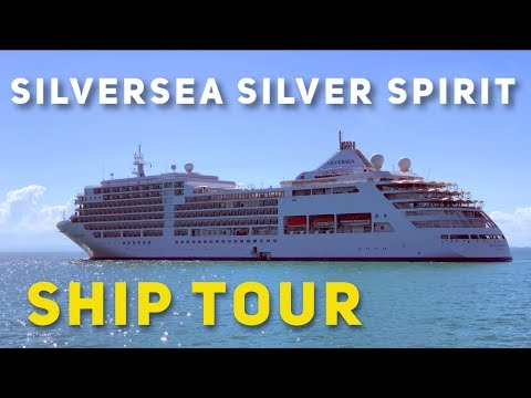 Silversea Silver Spirit Ship Tour 2020 (after being lengthened - what has changed?)