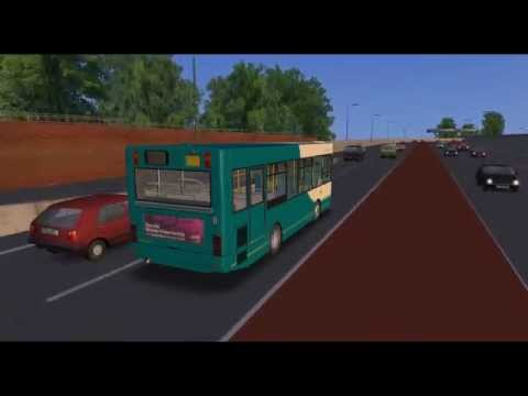Omsi bus 遊車河 (047) Arriva Dennis Dart pointer in Sutton Coldfield Map Birmingham 伯明翰
