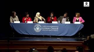 Rep. Omar and Pramila Jayapal host medicare discussion in Minneapolis | ABC News thumbnail