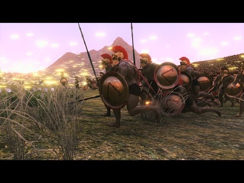 300 US Marines vs 25000 Spartans Ultimate Epic Battle Simulator