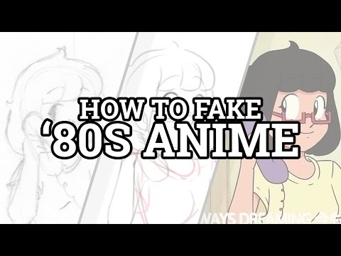 How to Fake '80s Anime - YouTube