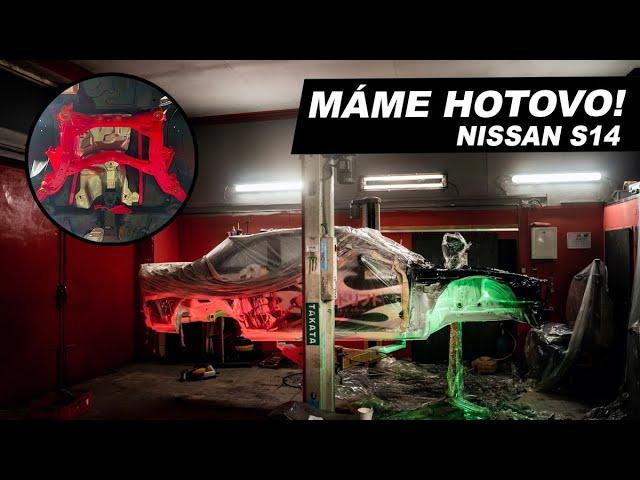Máme hotovo! | Nápravy l Podvozek l #Nissan S14