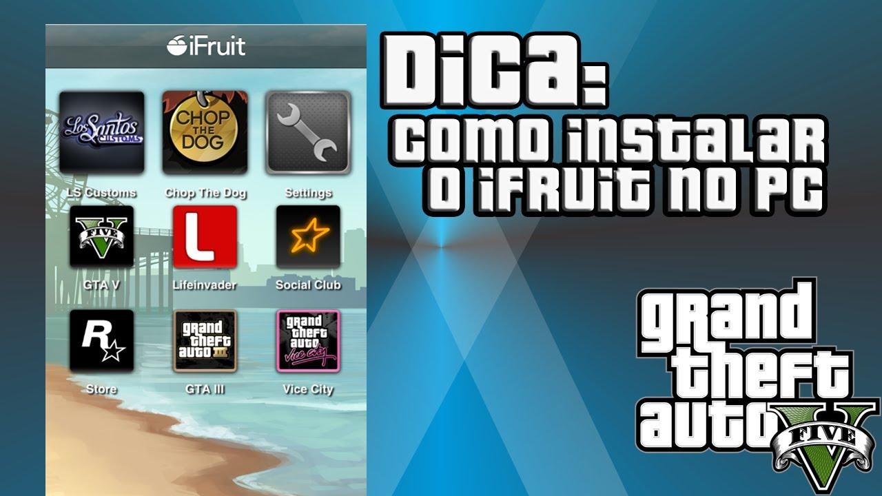 TÉLÉCHARGER IFRUIT GTA 5 PS4