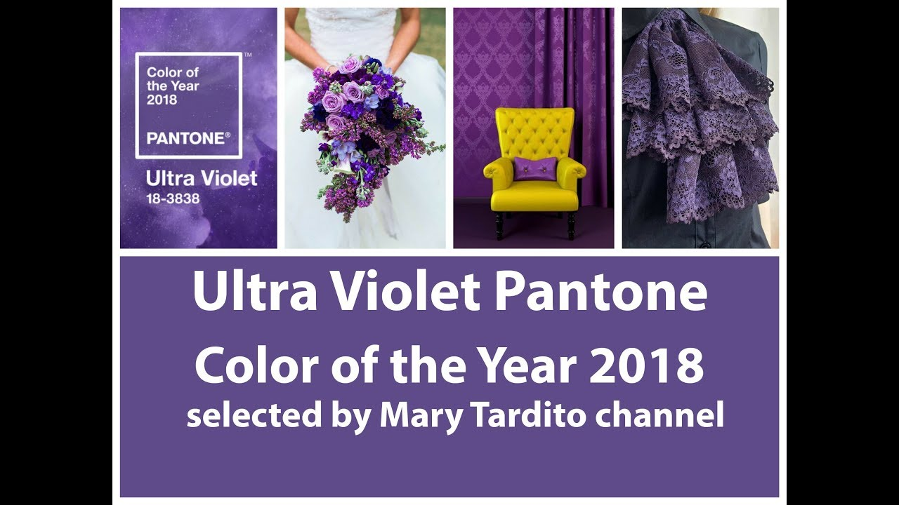 Ultra Violet Pantone Color Of The Year 2018 Pantone