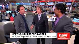 Martin Short meets Shane Foxman on CBC News Now with Ian Hanomansing