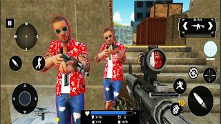 Grand Gangster War Shooting - FPS Shooting Games - Android GamePlay #3