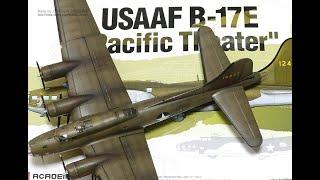 프라모델 조립 도색 의뢰작 USAAF B-17E Pac…
