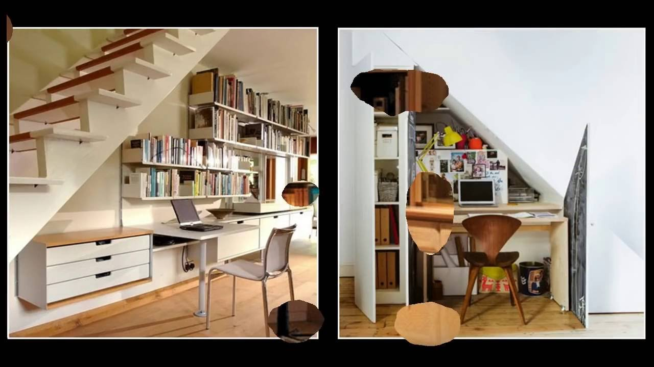 under stairs office. 25 Genius Under Stairs Space Design Ideas : Home Office \u0026 Study Room -