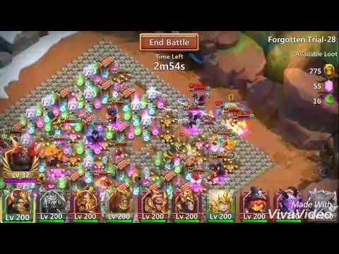 Castle Clash - Forgotten Trial 28
