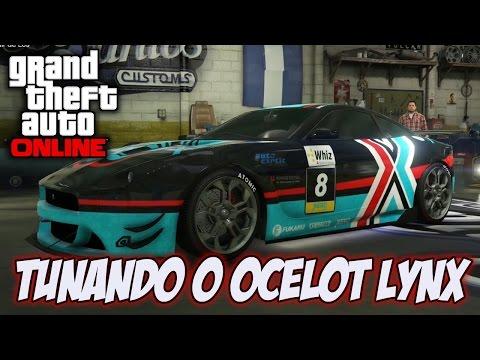 GTA V - TUNANDO O NOVO OCELOT LYNX - DLC CUNNING STUNTS