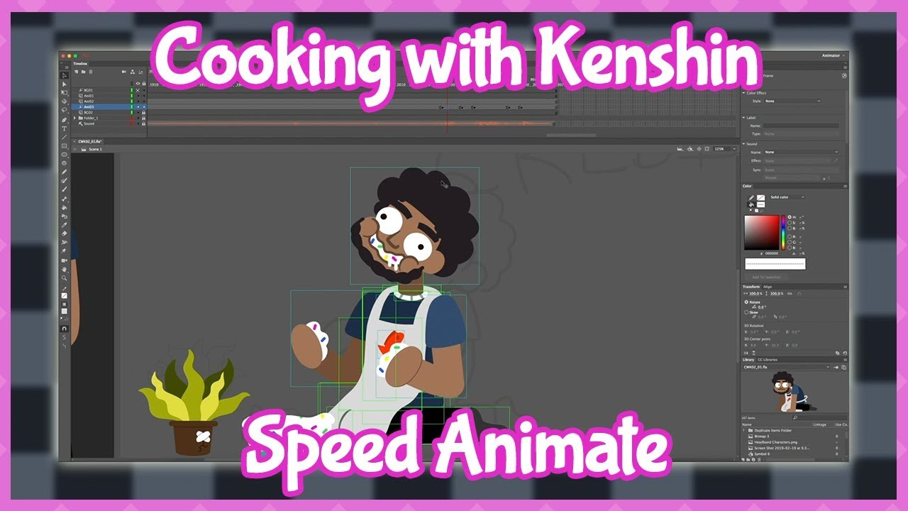 Behind the Scenes: Cooking with Kenshin Speed Animate