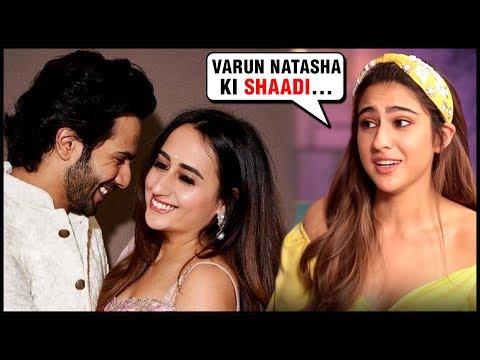Sara Ali Khan CONFIRMS Varun Dhawan Natasha Dalal's Marriage? | Love Aaj Kal