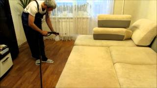 Обработка мягкой мебели от неприятных запахов компанией