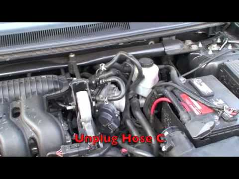 2005 Ford Freestyle Throttle Body Youtube