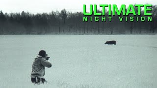 Must-See Night Hunting Footage IR Hunter MKIII 60mm and REAP-IR Thermal Scopes