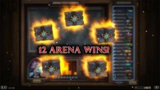 12 WINS ARENA: THE FINAL BOSS! [HEARTHSTONE ITA]