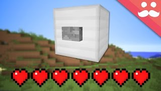 The LIVING BUTTON in Minecraft
