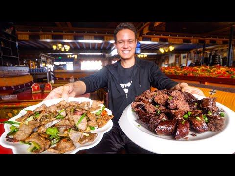 Tibetan Food in Shigatse - TRADITIONAL BREAKFAST in Tibet!