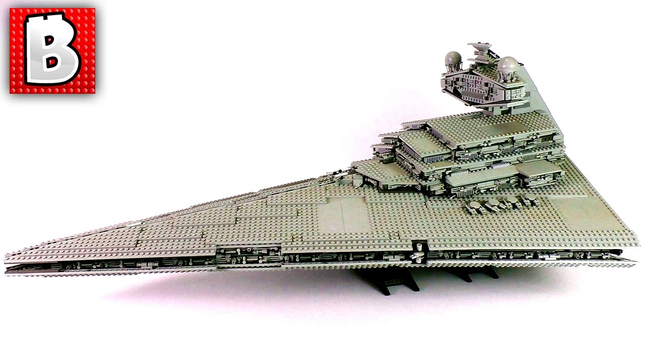 Ultimate Lego Star Destroyer Star Wars Withstands The Test Of