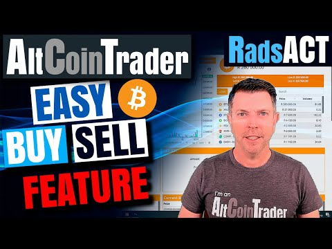 Easily buy and sell bitcoin and cryptocurrencies on https://www.AltCoinTrader.co.za