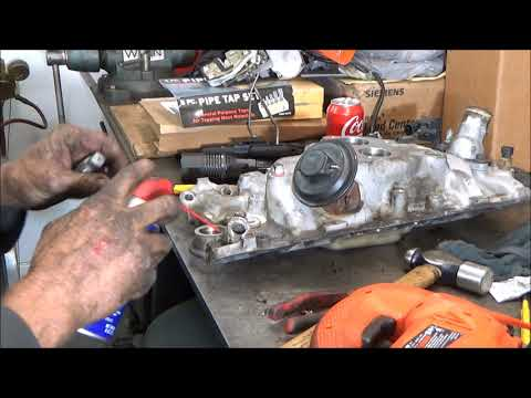 How To Remove Broken GM Heater Hose Quick Coupler, Fitting, Disconnect, NPT, Pipe Threads