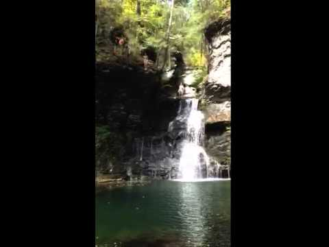 Cliff Jumping - Adams Creek New Jersey