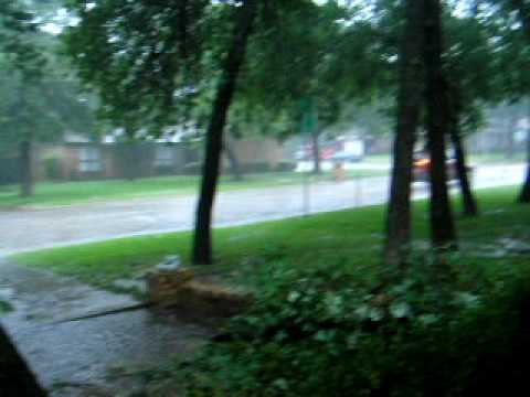 texas rains flooding my yard youtube