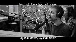 Lay it All Down feat  Will Reagan w lyrics