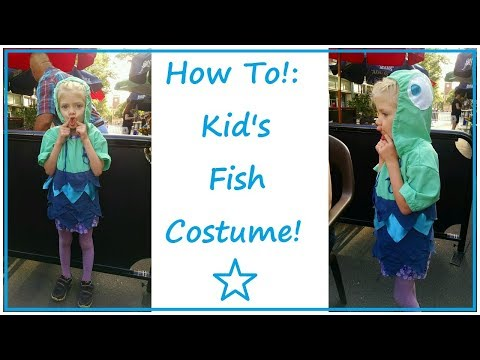 Kid's Fish Costume! | SEWING NERD! - Tutorial!