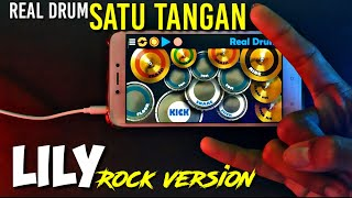 Real Drum Satu Tangan | Alan Walker - Lily (Rock Version)