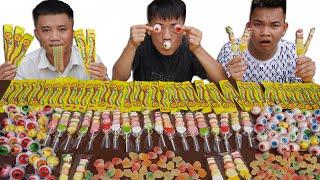 Hưng Troll | Thử Thách Người Cuối Cùng Ngừng Ăn Kẹo Dẻo Sẽ Thắng Nhận 500$