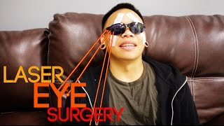 I Got Laser Eye Surgery!!!! | AJ Rafael