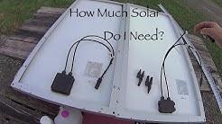 Adding a Second Solar Panel