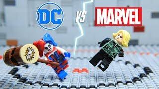 Lego Marvel vs DC Harley Quinn vs Black Widow