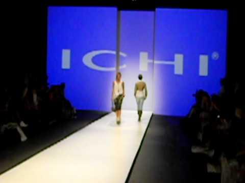 Fashion show Ichi, summer 2011 in the Modefabriek Amsterdam