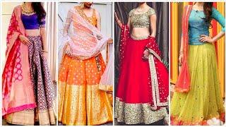 #lehengacholi #ethnic #wedding Beautiful Lehenga choli Design | Simple n Fancy Lehenga choli 2019 |