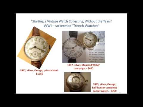 Starting a Vintage Watch Collection Without the Tears (parts 1 & 2)