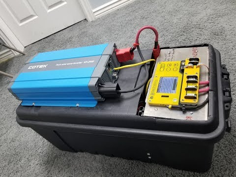 Ultimate, Portable, High Power, Solar Generator