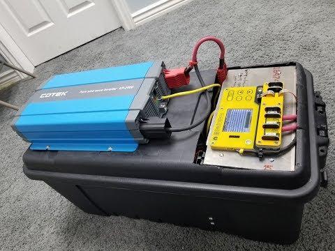 Ultimate, Portable, High Power, Solar Generator