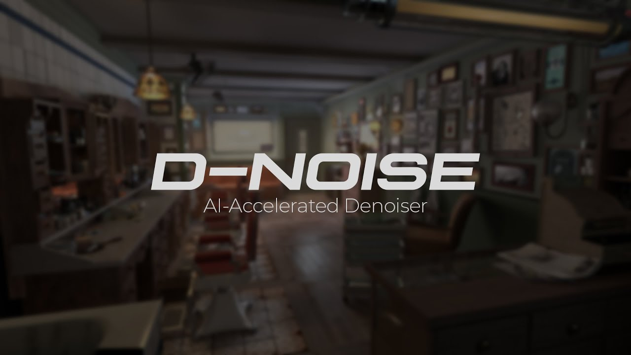 Download the free D-NOISE plugin for Blender | CG Channel