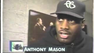 Anthony Mason Returns To Madison Square Garden