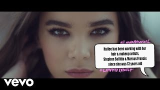 Hailee Steinfeld - Love Myself (Fact Bubbles) (Vevo LIFT): Brought To You By McDonald