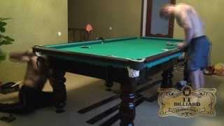 видео Бильярдный стол для снукера