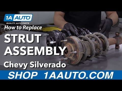 How to Replace Strut Assembly 07-13 Chevy Silverado