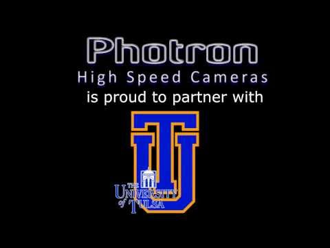 University of Tulsa uses Photron SA3 high speed camera for slow motion analysis of fluidics