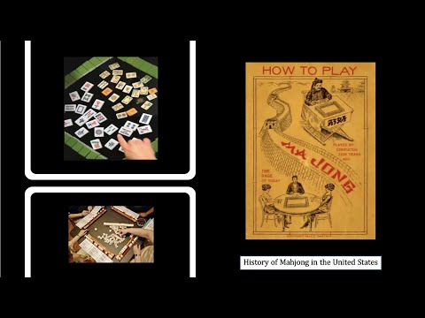 History of Mah Jong in the United States