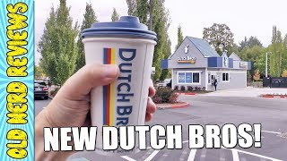 NEW DUTCH BROS COFFEE CAME TO TOWN! | Vancouver, WA 😍☕